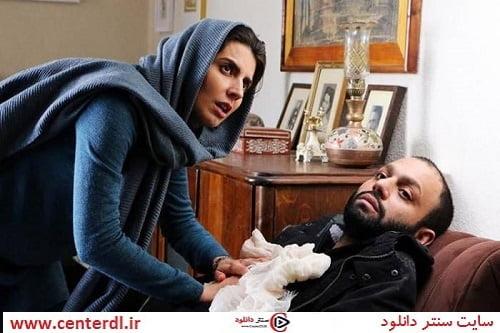 لیلا حاتمی و صابر ابر در فیلم حکایت دریا