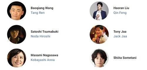 بازیگران فیلم کارآگاه های چینی 3 Detective Chinatown 3 2021