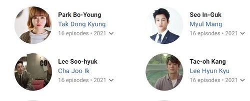بازیگران سریال کره ای Doom at Your Service 2021