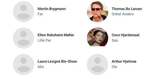 بازیگران فیلم پدر چهار فرزند و وایکینگ ها Far til fire & vikingerne 2020