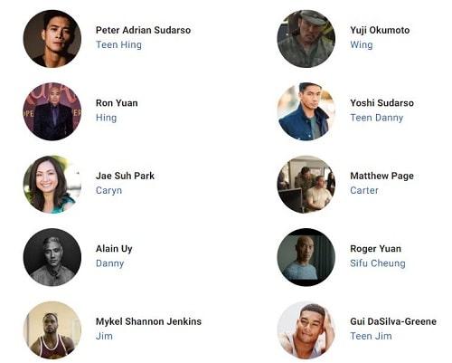بازیگران فیلم ببرهای کاغذی The Paper Tigers 2021
