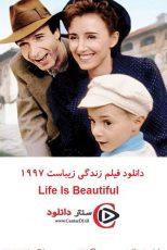 دانلود فیلم زندگی زیباست زیرنویس فارسی ۱۹۹۷ Life Is Beautiful